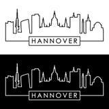 Horizonte de Hannover estilo linear