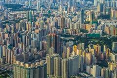 Horizonte de HK Fotografía de archivo