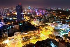 Horizonte de Ho Chi Minh City Imágenes de archivo libres de regalías