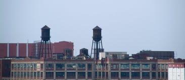 Horizonte de Hoboken Imágenes de archivo libres de regalías