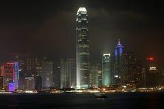 Horizonte de Hong-Kong Imagenes de archivo