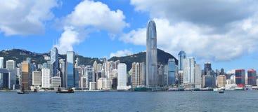 Horizonte de Hong Kong foto de archivo libre de regalías