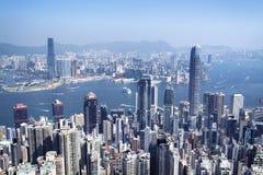 Horizonte de Hong-Kong Foto de archivo