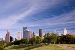 Horizonte de Houston Imagen de archivo libre de regalías