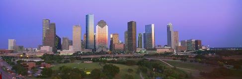 Horizonte de Houston Fotos de archivo libres de regalías