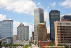 Horizonte de Houston imagenes de archivo