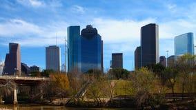 Horizonte de Houston, Tejas, un timelapse 4K almacen de video