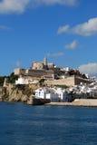 Horizonte de Ibiza Foto de archivo libre de regalías