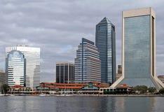 Horizonte de Jacksonville la Florida Fotografía de archivo libre de regalías