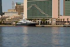 Horizonte de Jacksonville, la Florida Foto de archivo