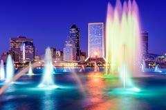 Horizonte de Jacksonville la Florida Fotos de archivo