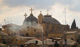 Horizonte de Jerusalén fotografía de archivo libre de regalías