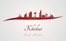 Horizonte de Khobar en rojo