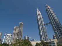 Horizonte de Kuala Lumpur Foto de archivo libre de regalías