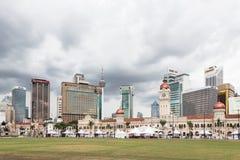 Horizonte de Kuala Lumpur alrededor del cuadrado de Merdeka Imagen de archivo