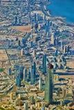 Horizonte de Kuwait City Foto de archivo