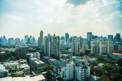 Horizonte de la ciudad de Bangkok Fotos de archivo libres de regalías