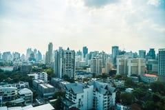 Horizonte de la ciudad de Bangkok Imágenes de archivo libres de regalías