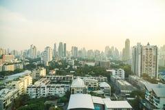 Horizonte de la ciudad de Bangkok Foto de archivo libre de regalías
