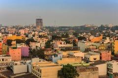 Horizonte de la ciudad de Bangalore - la India foto de archivo libre de regalías