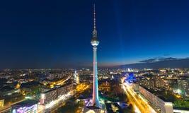 Horizonte de la ciudad de Berlín Imágenes de archivo libres de regalías