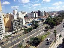 Horizonte de la ciudad de Campinas Imágenes de archivo libres de regalías