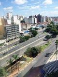 Horizonte de la ciudad de Campinas Imagen de archivo libre de regalías
