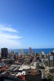 Horizonte de la ciudad de Durban Imagenes de archivo