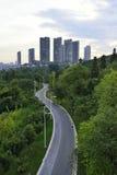 Horizonte de la ciudad de Guiyang Imagen de archivo libre de regalías