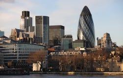 Horizonte de la ciudad de Londres Imagen de archivo libre de regalías