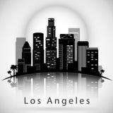 Horizonte de la ciudad de Los Ángeles Diseño tipográfico