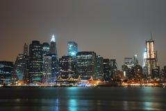 Horizonte de la ciudad de Manhattan, New York City Fotos de archivo