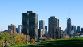 Horizonte de la ciudad de Montreal imagen de archivo