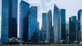 Horizonte de la ciudad de Singapur Imagen de archivo