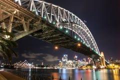 Horizonte de la ciudad de Sydney Imagen de archivo libre de regalías
