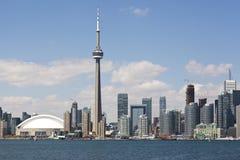 Horizonte de la ciudad de Toronto Imagen de archivo libre de regalías
