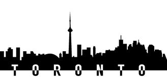 Horizonte de la ciudad de Toronto Foto de archivo libre de regalías