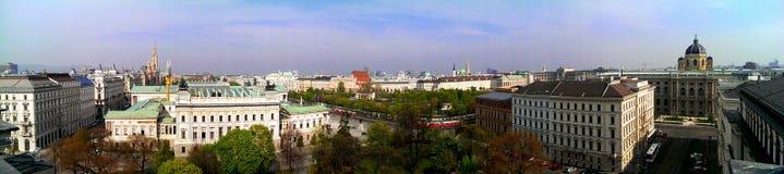 Horizonte de la ciudad de Viena imagen de archivo libre de regalías