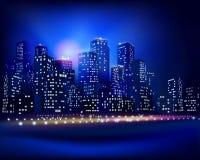 Horizonte de la ciudad Ilustración del vector Imagen de archivo libre de regalías