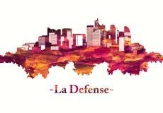 Horizonte de la defensa del La en rojo libre illustration