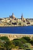Horizonte de La Valeta, Malta imagenes de archivo