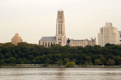 Horizonte de las alturas de Morningside, NY Imágenes de archivo libres de regalías