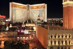 Horizonte de Las Vegas Imágenes de archivo libres de regalías