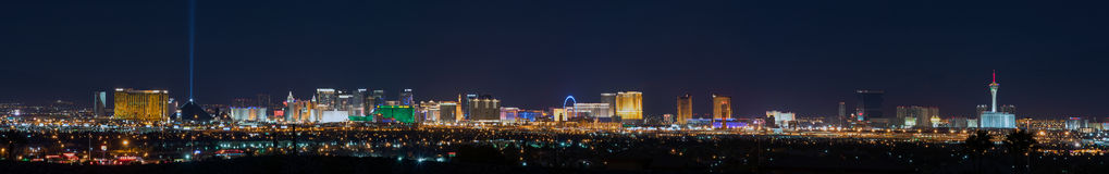 Horizonte de Las Vegas Imagen de archivo