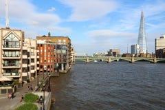 Horizonte de Londres Foto de archivo libre de regalías