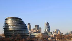 Horizonte de Londres Imagen de archivo