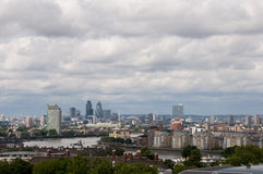 Horizonte de Londres Fotografía de archivo libre de regalías