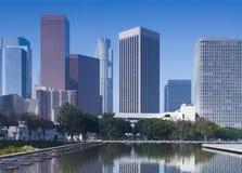 Horizonte de Los Ángeles fotografía de archivo