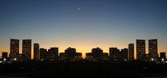 Horizonte de Los Ángeles Foto de archivo libre de regalías
