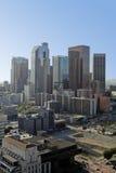 Horizonte de Los Ángeles en madrugada Fotografía de archivo